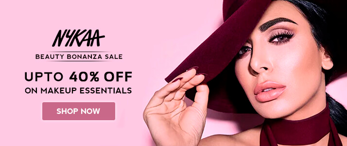 Nykaa 40% OFF Voucher Code