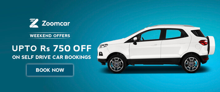 Zoomcar Rs 750 Discount Coupon Code