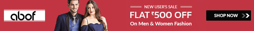 Flat 500 OFF Fashion Coupon Code
