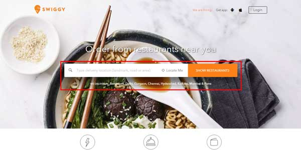 swiggy home